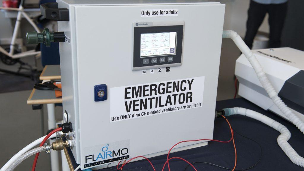AAU Pandemic Ventilator Photo by: Lars Horn