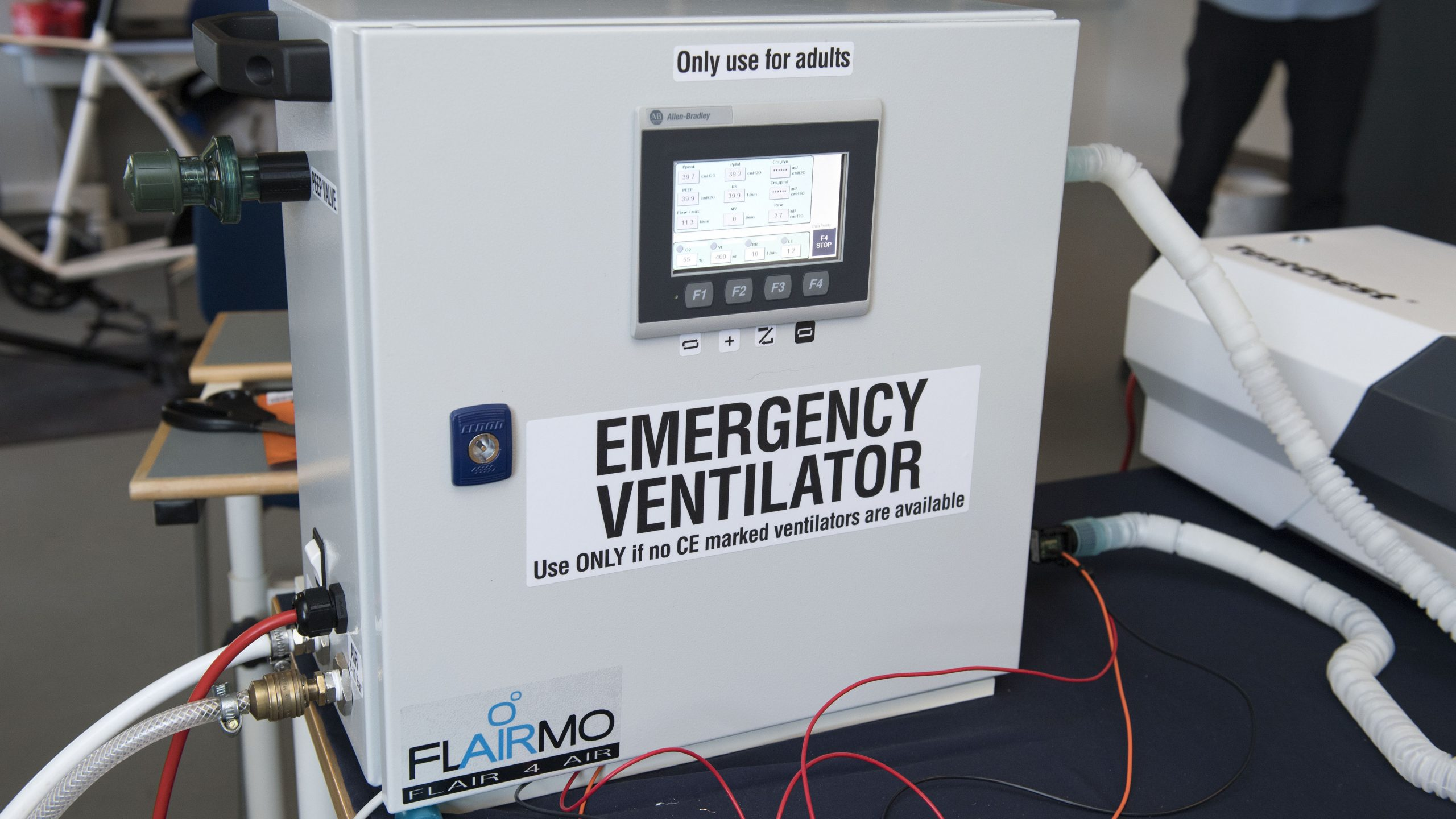 AAU Pandemic Ventilator Photo by: Lars Horn